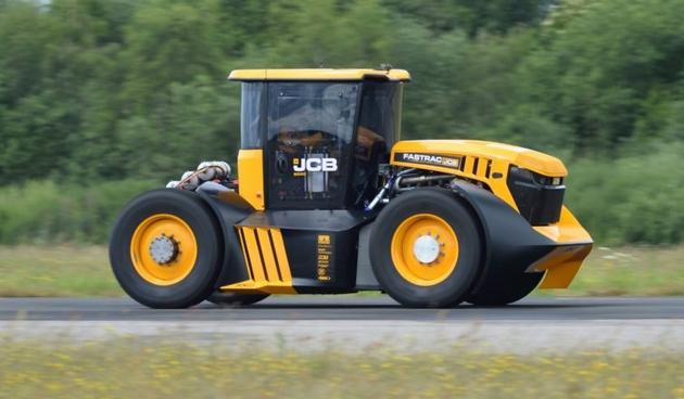 A világ leggyorsabb traktora