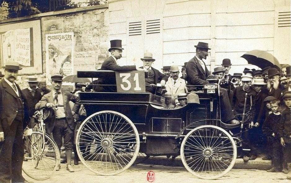 A világ első autóversenye- Érdekességek
